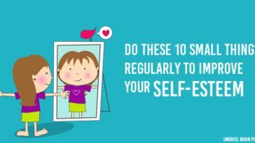 improve self-esteem