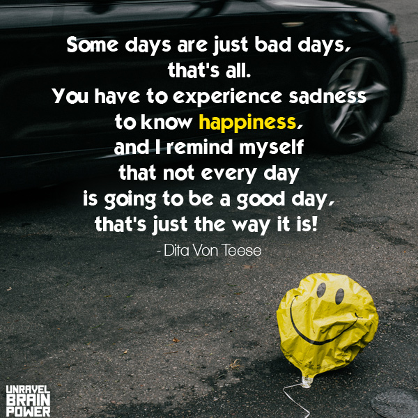 Some days are just bad days