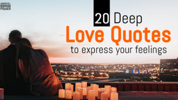 20 Deep Love Quotes To Express Your Feelings