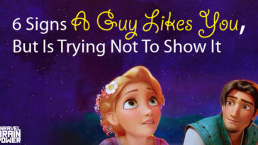 6 Signs A Guy Likes You,But Is Trying Not To Show It