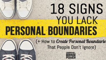 18 Signs You Lack Personal Boundaries
