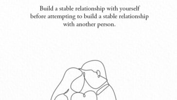 Build A Stable Relationship With Yourself