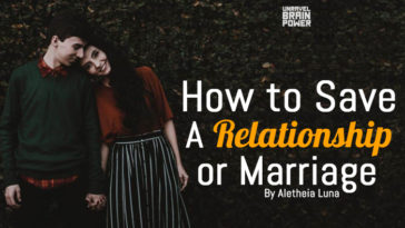 How to Save a Relationship or Marriage