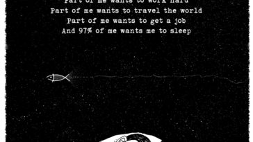 Part Of Me Wants To Work Hard Part Of Me Wants To Travel The World