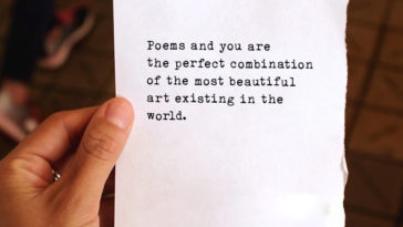 Poems And You Are The Perfect