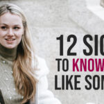 Sign you like someone