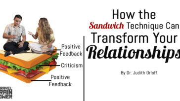 How the Sandwich Technique Can Transform Your Relationships