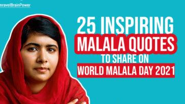25 Inspiring Malala Quotes To Share On World Malala Day 2021