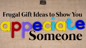 30 Frugal Gift Ideas to Show You Appreciate Someone