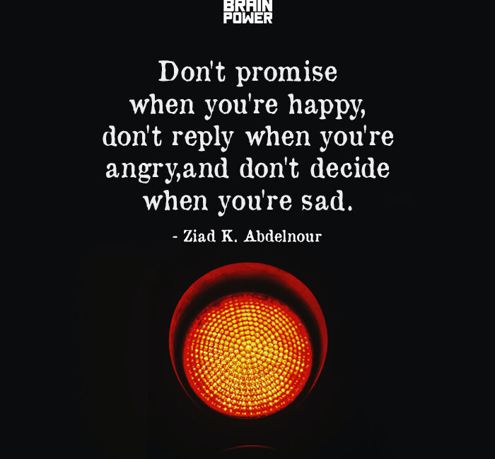 Don't Promise When You're Happy,