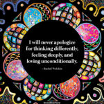I Will Never Apologize For Thinking Differently