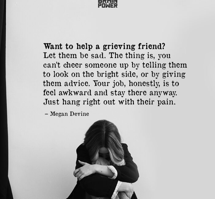 Want To Help A Grieving Friend?