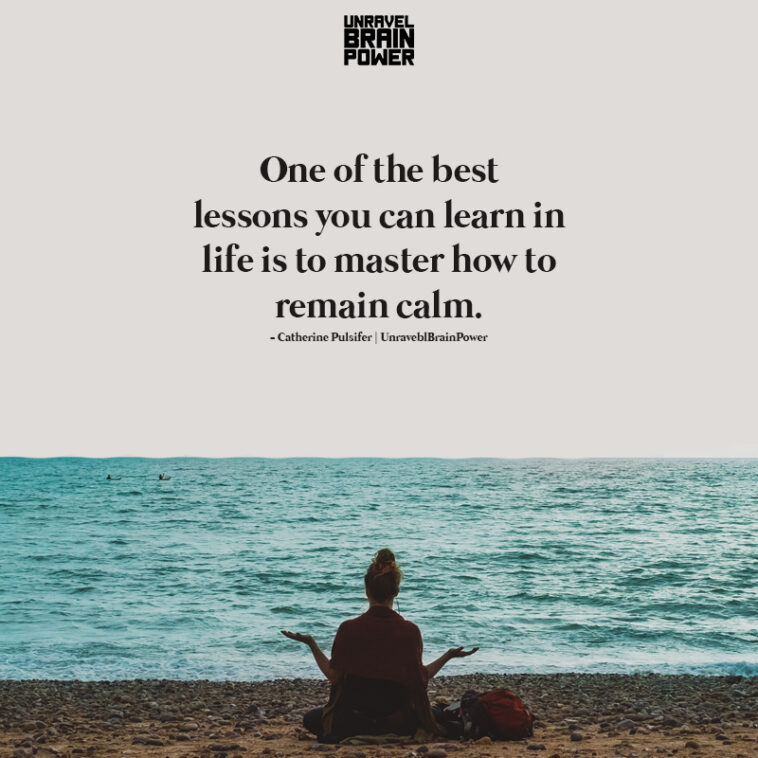 One Of The Best Lessons You Can Learn In Life Is