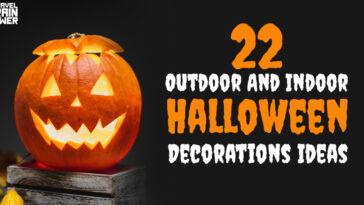22 Outdoor And Indoor Halloween Decorations Ideas