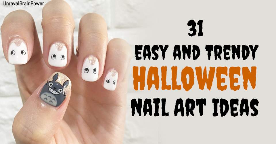 31 Easy and Trendy Halloween Nail Art Ideas