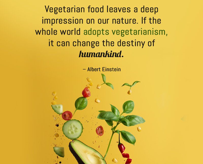 Vegetarian Food Leaves A Deep Impression On Our Nature
